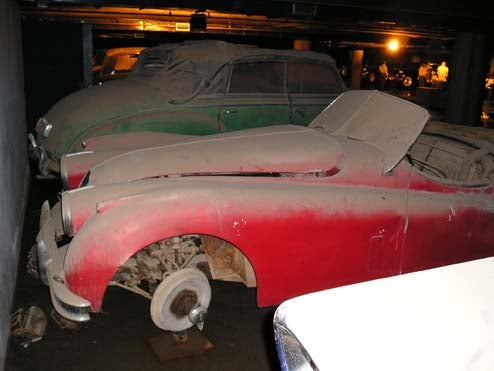 Seriously Cool Stash Of Saddam-Era Cars Found In Baghdad Underground Garage