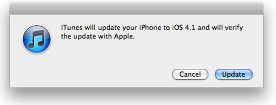 Apple iOS 4.1 Is Available Right Now