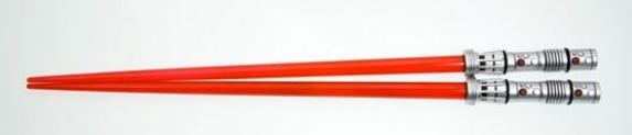 Lightsaber Chopsticks Now Double As A Killer Staff of Doom