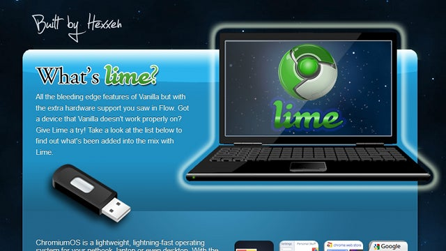 Chromium Lime Now Supports Chrome OS on Many More Laptops