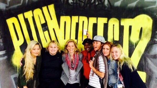 Here's Your First Behind-the-Scenes Look at Pitch Perfect 2