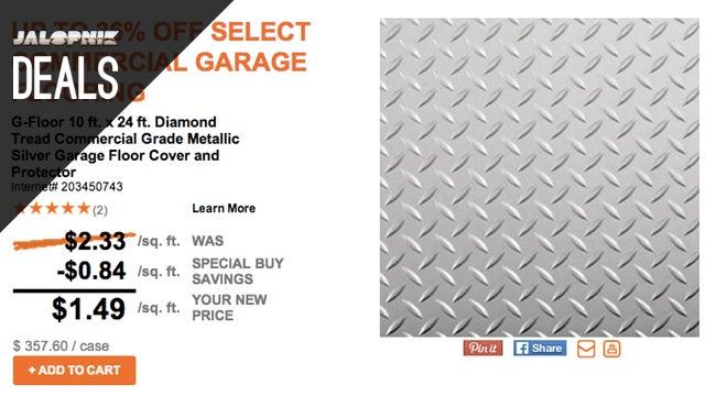 Deals: Never Lose Your Keys Again, Garage Floor Covers, Worx AeroCart