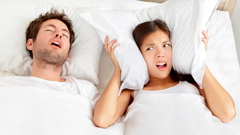 Your Snoring Problem Might Be Giving You Cancer