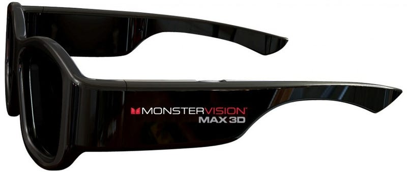 Monster Vision Max 3D Glasses: Universal and Proprietary