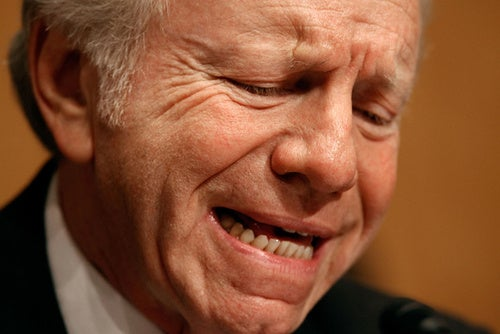 The Fate of American Government Could Rest in Joe Lieberman's Annoying Hands