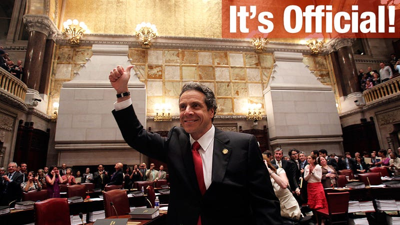 New York Passes Gay Marriage