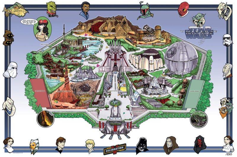 This is the new Star Wars theme park we're looking for