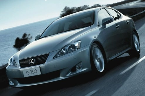 The 2009 Lexus IS250 Gets Updated, Apparently