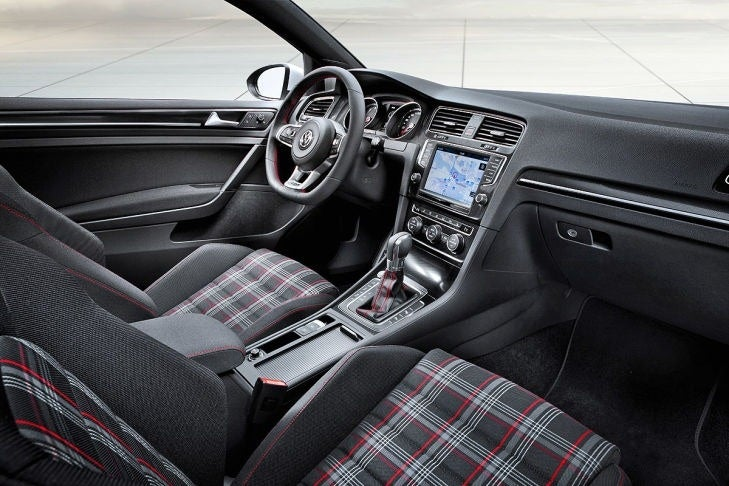 Hey, want plaid seats in your upper trim GTI?