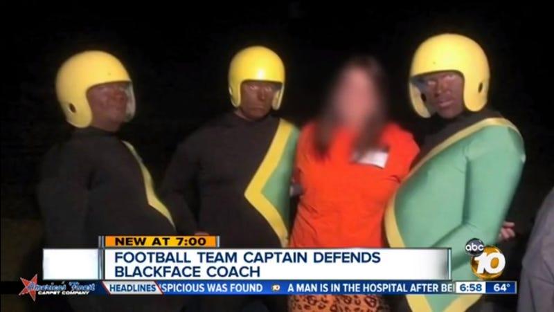 Not Cool: Blackfaced Football Coaches Dress As 'Jamaican Bobsled Team'
