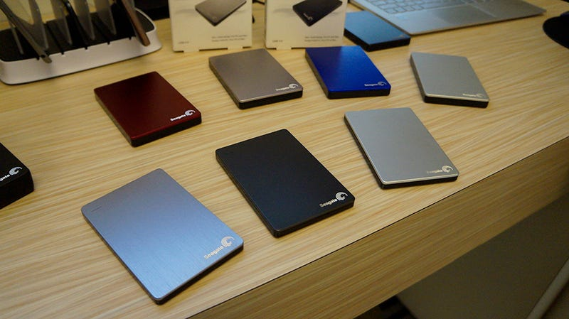 Seagate's Got a Batch of Slim New Drives To Back Up Your Phone
