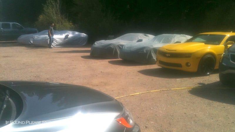 Corvette Spy Shots