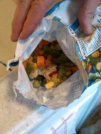 Ew: Frog Found In Frozen Vegetables
