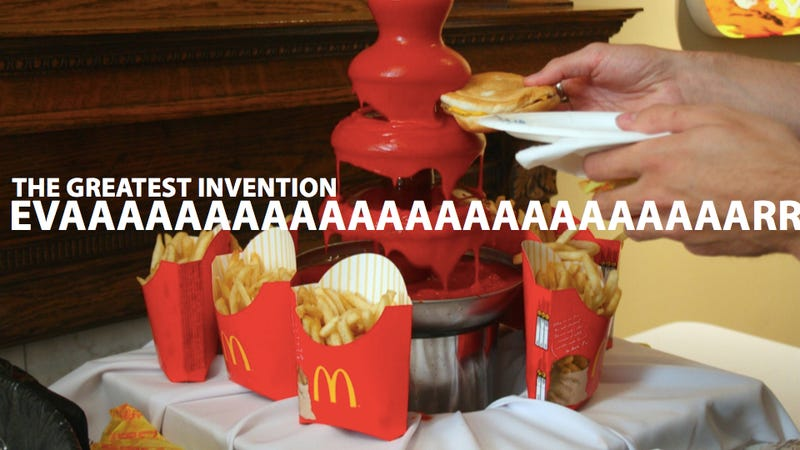 The Ketchup Fountain Is Greater Than a Cure for Cancer