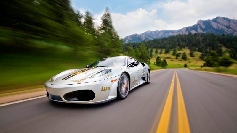 Your Ridiculously Cool Ferrari F430 Wallpaper Is Here