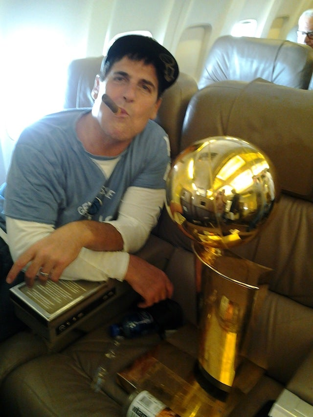 Mark Cuban Hasn't Slept In Days