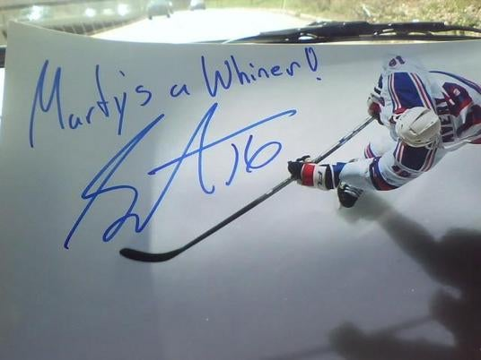 Sean Avery Might Be The NHL's Most Compelling Idiot