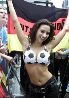 German Soccer Fans Refuse To Be Upstaged By Italians