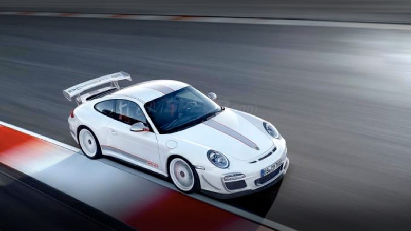 This is the Porsche 911 GT3 RS 4.0
