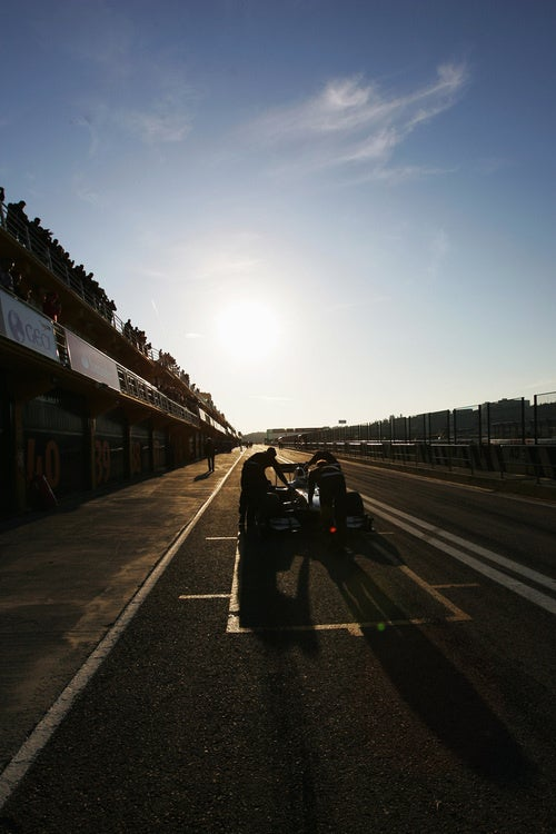 Gallery: 2010 Formula One Winter Testing