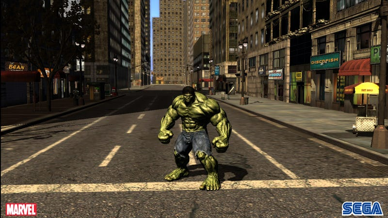 The Madder Hulk Gets, The More Options You Have In Video Game