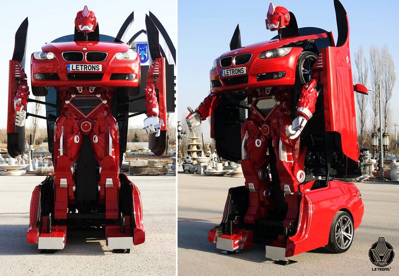 This Company Will Build You a Real-Life Transformer