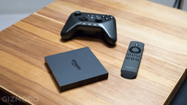 Amazon FireTV Ships Today, Order Now