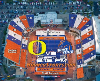 Boise State To Baffle Opponents With Bright Colors