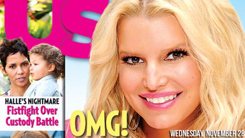 Whoops, Jessica Simpson Accidentally Got Pregnant Again
