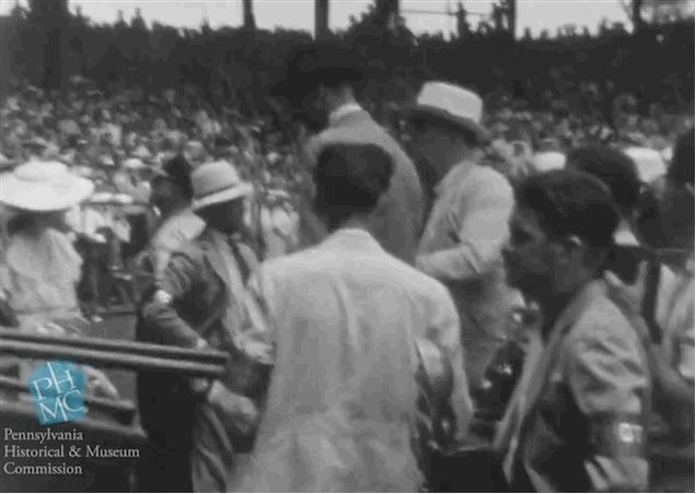 Unseen Footage Shows President Franklin Roosevelt Walking In 1937