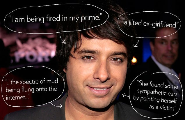 Jian Ghomeshi Responds to Sex Abuse Allegations Like a Real Creep