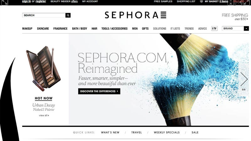 Sephora's New Site Is Crack for Beauty Junkies