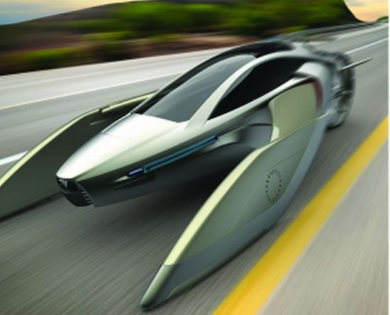 The Flying Car That Can Blow Up the Death Star