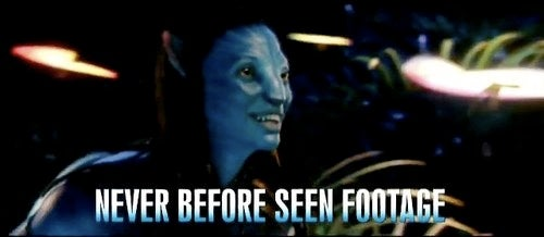 Get a glimpse of some never-before-seen Avatar footage