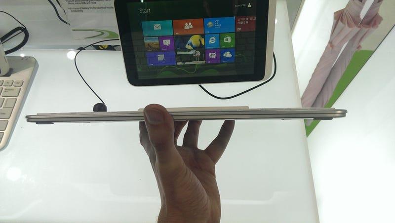 Probamos la 1ª mini-tableta Windows 8: Microsoft necesita algo mejor