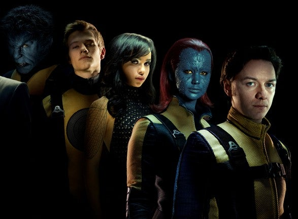High res shots of the X-Men: First Class cast have us seriously worried