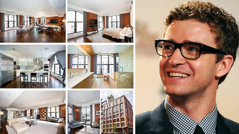 Justin Timberlake Gives Up His Tribeca Sex Condo