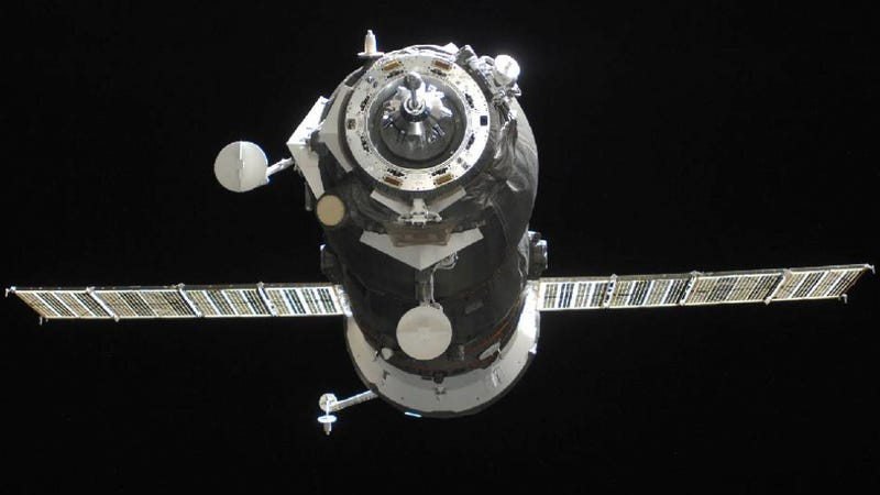 A Russian cargo shipment to the International Space Station has crashed