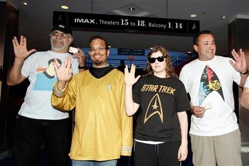 Star Trek Owns The Weekend