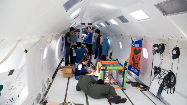 Microgravity University: Testing the Future of Spaceflight in Zero G
