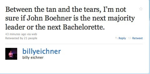 The Best Boehner Jokes: Tears And Erections