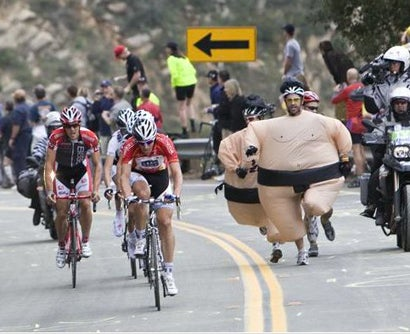 Leading The Herd At The Tour Of California