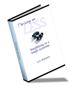 Free Ebook Thriving on Less Available for Download