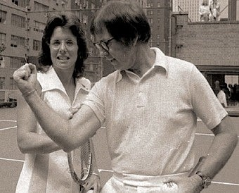 Chauvinist Tennis Player Not Too Young To Admire Bobby Riggs