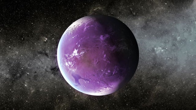 Alien life may be thriving in purple planets