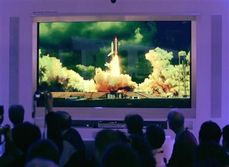 Holy Shit: 150-Inch Panasonic Plasma HDTV at CES
