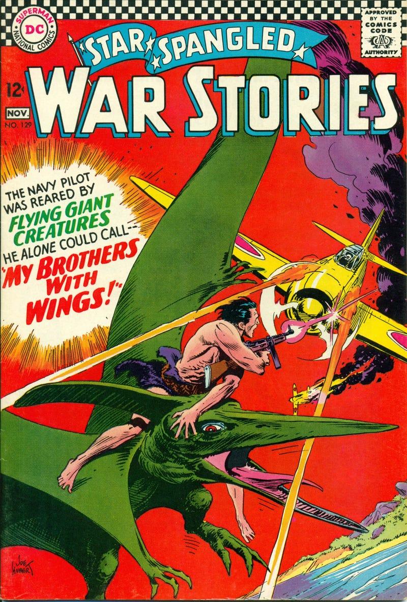 Goodbye Joe Kubert, Comic Book Titan