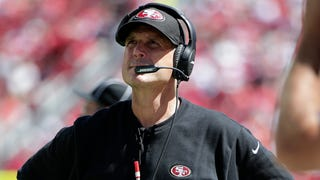 Jim Harbaugh Says Domestic Violence Means You're Off His Team