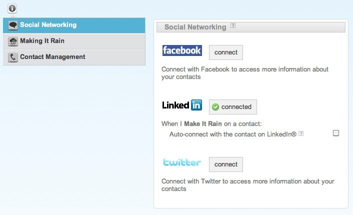 Rainmaker Automatically Updates Your Google Contacts with Data from Social Networks