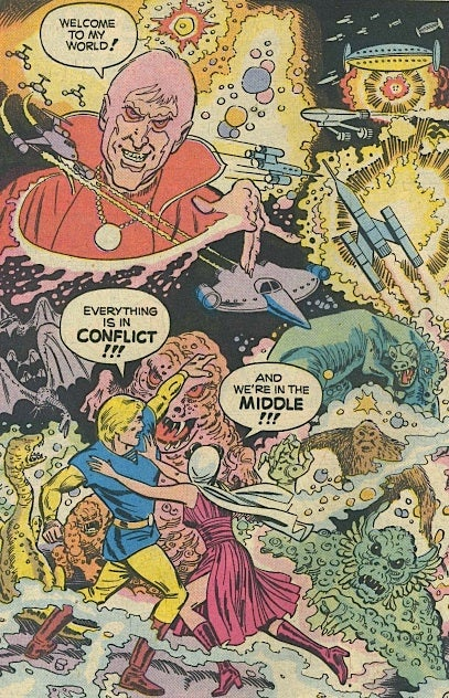 Science Fiction Sunday School Comics From The 1970s Were Trippy As Balls